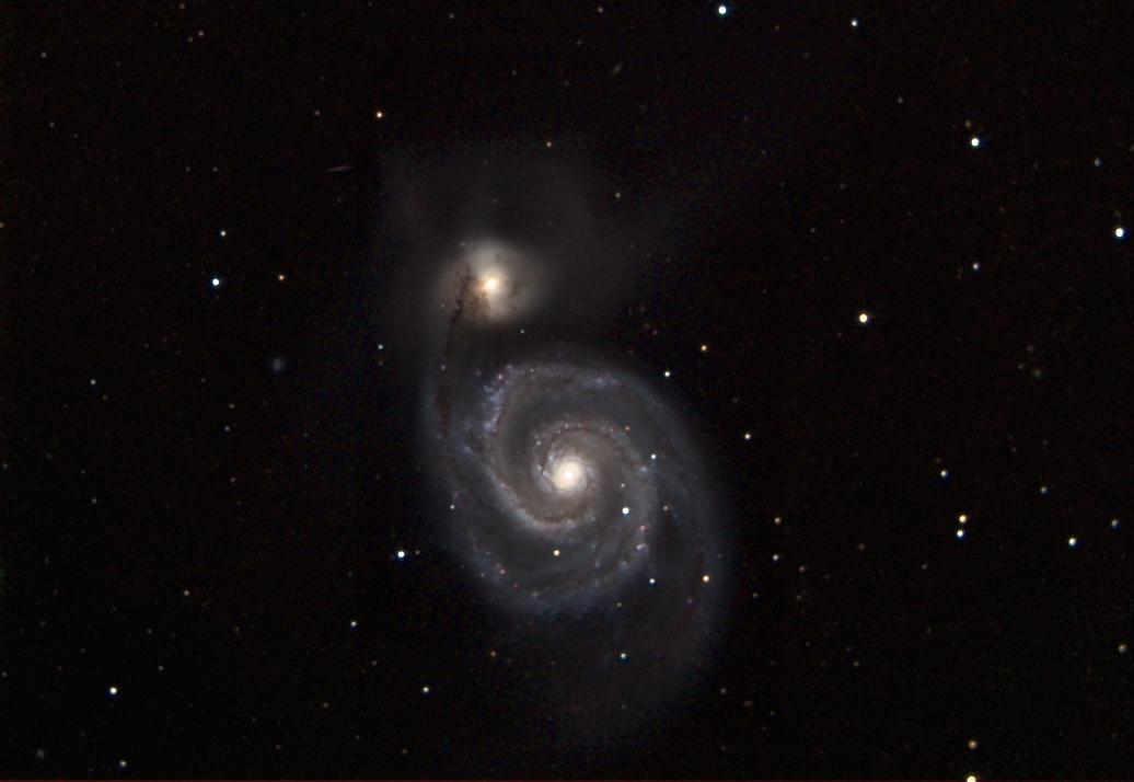 M51 La galaxie des Chiens de Chasse