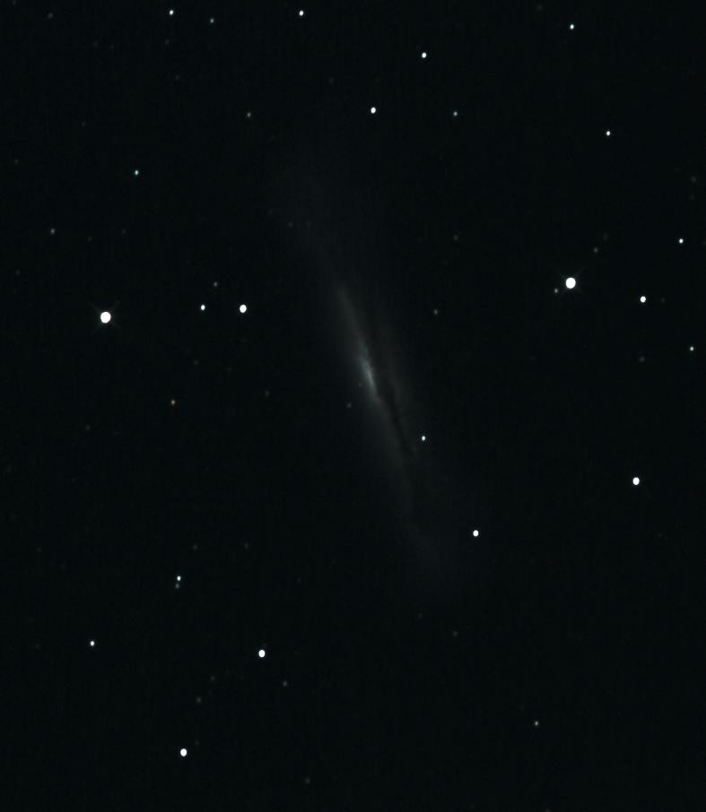 NGC3628 'le Hot Dog'
