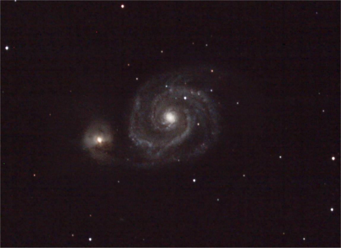 M51 - centre