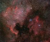 America et Pelican Nebula