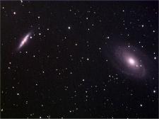 M81 et M82 en couleurs